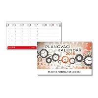 Plánovací 2018 - stolní pracovní kalendář