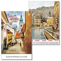 Česká republika 2018 - nástěnný obrázkový kalendář