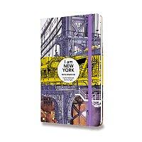 Zápisník Moleskine I am New York tvrdé desky