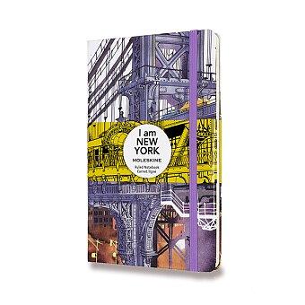 Obrázek produktu Zápisník Moleskine I am New York - tvrdé desky - L, linkovaný