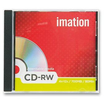 Obrázek produktu Přepisovatelné CD Imation CD-RW - 700 MB - 1 ks