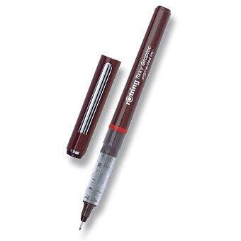 Obrázek produktu Grafický liner Rotring Tikky Graphic - černý, výběr šířky stopy