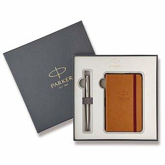Obrázek produktu Dárková kazeta Parker se zápisníkem 2018