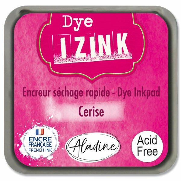 Razítkovací polštářek Izink Dye rychleschnoucí tm. růžová