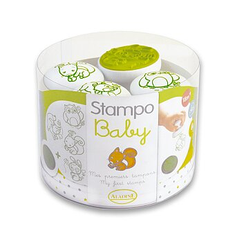 Obrázek produktu Razítka Aladine Stampo Baby - Lesní zvířátka
