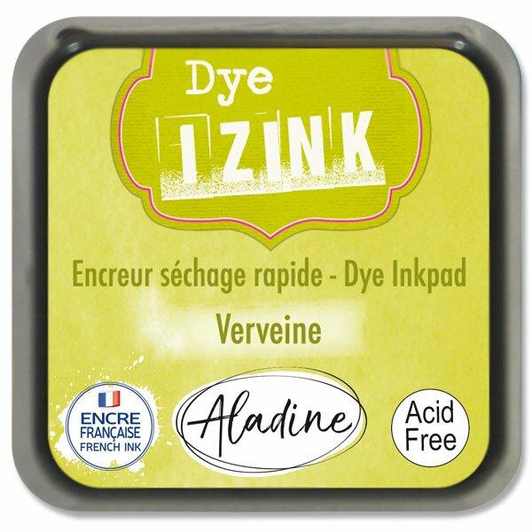Razítkovací polštářek Izink Dye rychleschnoucí žlutozelená
