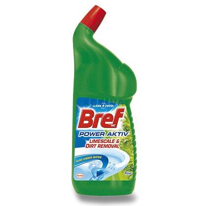 Obrázek produktu Bref WC Power Aktiv - čistič WC - Borovice, 750 ml