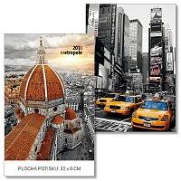 Nástěnný obrázkový kalendář Metropole
