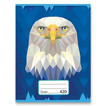 Obrázek produktu Školní sešit Premium 420 - A4, čistý, 20 listů, mix motivů