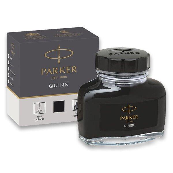 Lahvičkový inkoust Parker černý