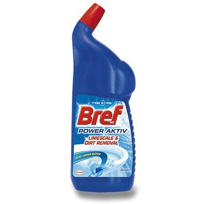 Obrázek produktu Bref WC Power Aktiv - čistič WC - Ocean, 750 ml
