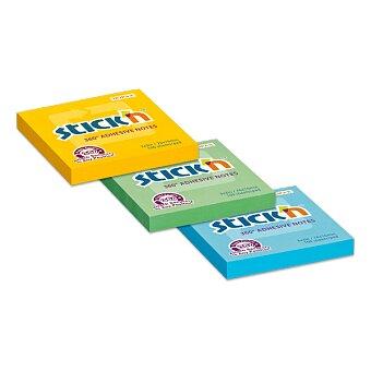 Obrázek produktu Samolepicí bloček Hopax Stick'n Notes 360 - 76 x 76 mm, 100 listů, výběr barev