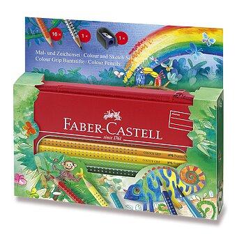 Obrázek produktu Pastelky Faber-Castell Grip 2001 - džungle, 17 ks