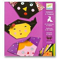 Origami skládačka Djeco - Obličej