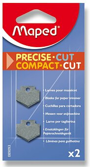 Obrázek produktu Náhradní břity pro řezačku Maped Compact Cut - 2 ks
