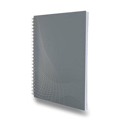 Obrázek produktu Avery Zweckform Notizio - kroužkový blok - A5, 80 l., linkovaný