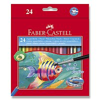 Akvarelové pastelky Faber-Castell