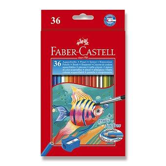 Obrázek produktu Akvarelové pastelky Faber-Castell - 36 barev + štětec