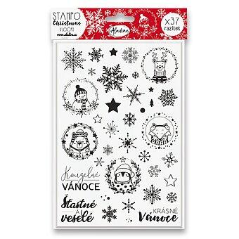 Obrázek produktu Razítka Stampo Christmas Aladine - Vločky - 37 ks