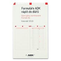 Denní plány termínované ADK 2019