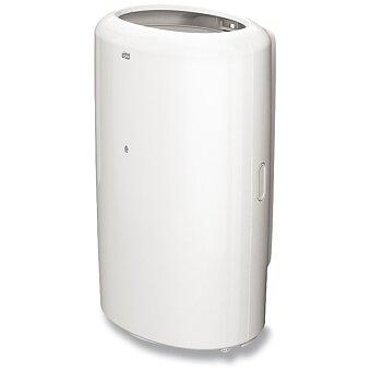 Obrázek produktu Plastový odpadkový koš Tork Elevation bez víka - objem 50 litrů, bílý