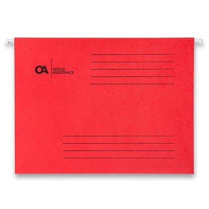 Product image OA - závěsné desky - červená, 25 ks