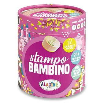 Obrázek produktu Razítka Aladine Stampo Bambino - Princezny, 8 ks