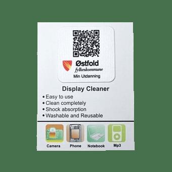 Obrázek produktu Samolepicí čistítka s logem vaší firmy
