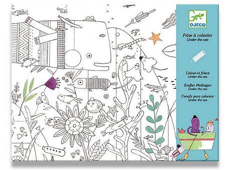Obrázek produktu Maxi omalovánka Djeco - Pod mořem