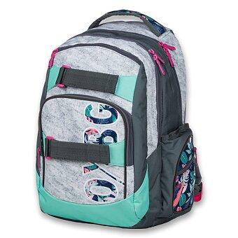 Obrázek produktu Studentský batoh OXY Style - Grey Tropical
