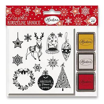 Obrázek produktu Razítka Stampo Nöel Aladine - Kouzelné Vánoce - 12 ks