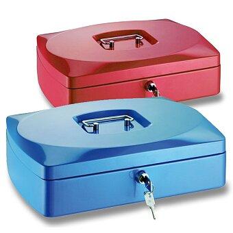 Obrázek produktu Přenosná zamykatelná pokladna ConmetRON - 330 x 235 x 90 mm, výběr barev