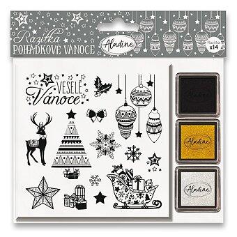 Obrázek produktu Razítka Stampo Nöel Aladine - Pohádkové Vánoce - 14 ks