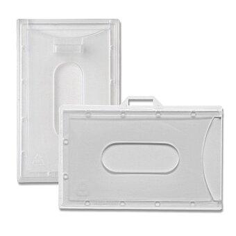Obrázek produktu Visačka z tvrdého plastu - 88 x 55 mm, na výšku nebo na šířku