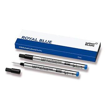 Obrázek produktu Náplň Montblanc do rolleru LeGrand - F, 2 ks, modrá