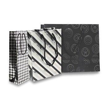 Obrázek produktu Dárková taška Premium Black - různé rozměry, mix motivů