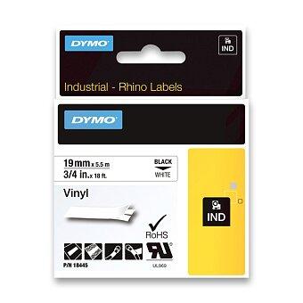 Obrázek produktu Permanentní polyesterová páska Dymo D1 - černobílá, 19 mm x 5 m