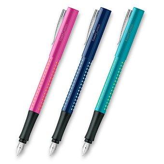 Obrázek produktu Plnicí pero Faber-Castell Grip 2010 - hrot F, výběr barev