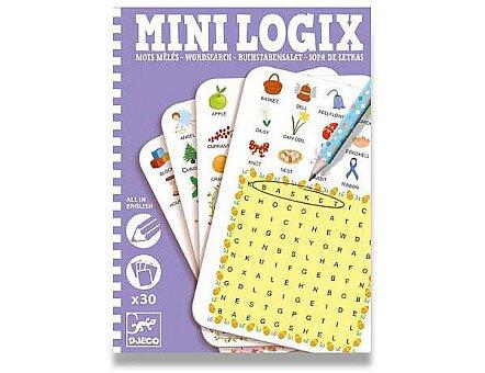 Obrázek produktu Mini hra Djeco Mini Logix - Učíme se anglicky