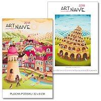 Nástěnný obrázkový kalendář Art Naive
