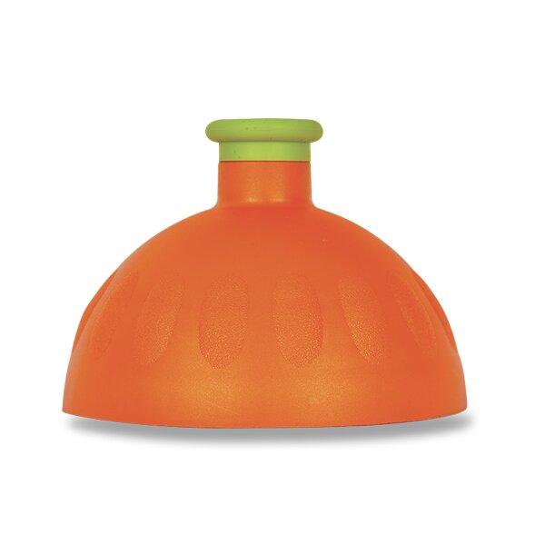 Kompletní víčko Zdravá lahev oranžové/ sv. zelená zátka