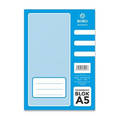 Obrázek produktu Bobo blok - lepený blok - A5, 50 l., čistý