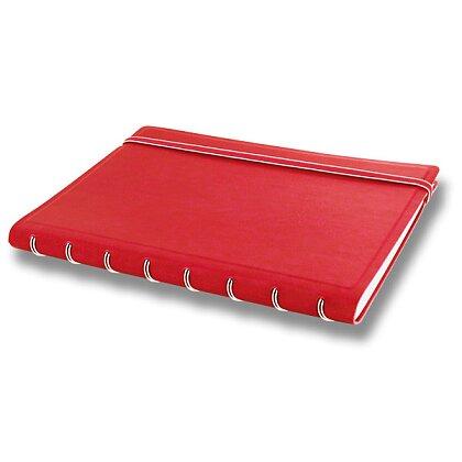 Obrázek produktu Filofax Notebook Classic - kroužkový blok A5 - červený
