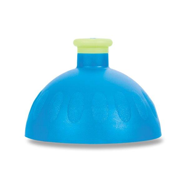 Kompletní víčko Zdravá lahev modré/ žlutá reflexní zátka