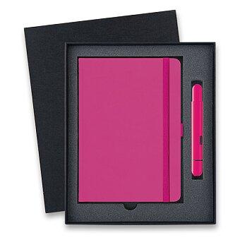 Obrázek produktu Lamy Pico Neon Pink - kapesní kuličková tužka, dárková sada se zápisníkem