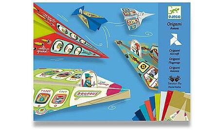 Obrázek produktu Origami sada Djeco - Letadla pro kluky