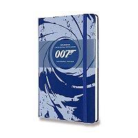Zápisník Moleskine James Bond - tvrdé desky