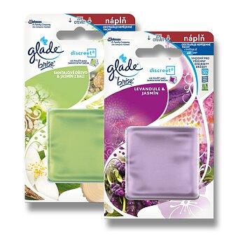 Obrázek produktu Náplně do osvěžovače vzduchu Glade by brise Discreet Decor - výběr vůní