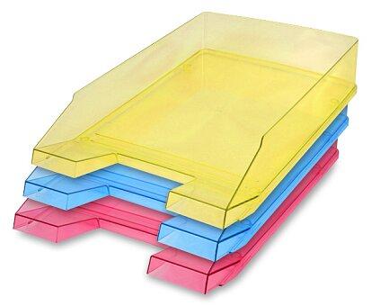 Obrázek produktu Kancelářský odkladač Helit Economy Transparent - výběr barev