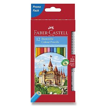 Obrázek produktu Pastelky Faber-Castell - 12 barev + grafitová tužka